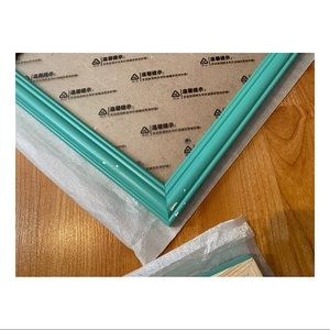 Wall Art - Turquoise Photo Frame Gallery Collage Set